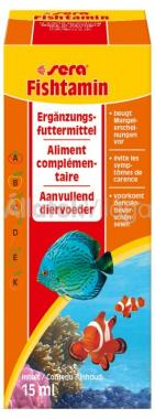 Sera Fishtamin vitamin 15 ml-es