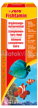 Sera Fishtamin vitamin 100 ml-es