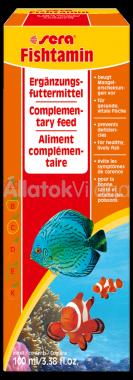 Sera Fishtamin vitamin 100 ml-es
