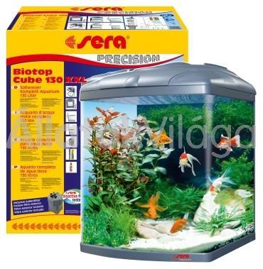 Sera Biotop Cube 130 XXL komplett akvárium szett (teljesen felszerelve)