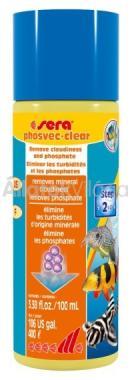 Sera phosvec-clear 100 ml-es 400 literhez