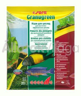Sera Granugreen (zacskós) 20 g-os