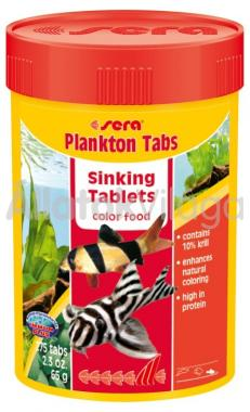 Sera Plankton Tabs 100 ml/275 tabletta
