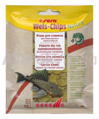 Sera Wels-Chips (zacskós) 15 g-os