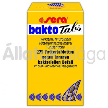 Sera bakto Tabs 100 ml/275 tabletta