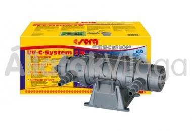 Sera UV-C System 5 W-os UV lámpa max. 500 literes akváriumhoz