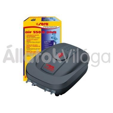 Sera air 550 R levegőpumpa 4 db csatlakozóval és szabályzóval