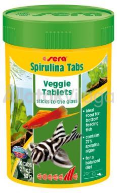Sera Spirulina Tabs 100 ml/100 tabletta