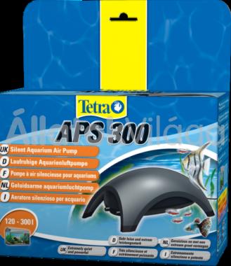 Tetra APS 300 légpumpa két kivezetéses Antracit 120-300 literig