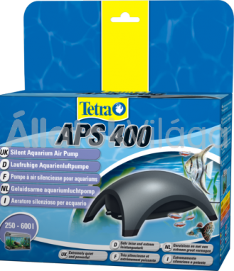 Tetra APS 400 légpumpa két kivezetéses Antracit 250-600 literig