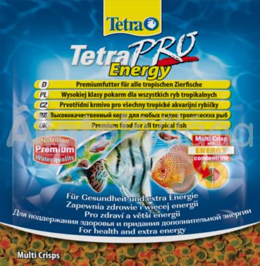 TetraPro Energy (zacskós) 12 g-os