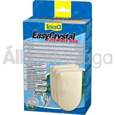 Tetra EasyCrystal FilterPack 600 pótszivacs 3 db-os