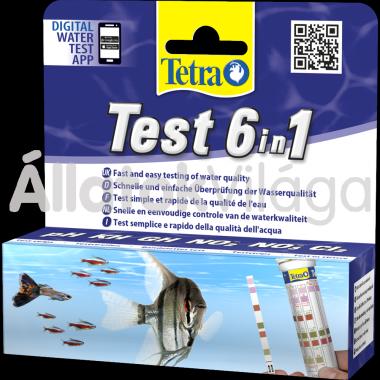 Tetra Test 6in1 (tesztcsíkok) 25 db-os