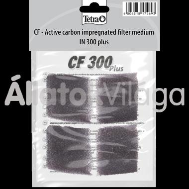 Tetra Activated Carbon CF 300 plus aktívszenes szivacs 4 db-os