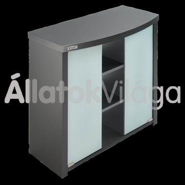 Tetra AquaArt akvárium bútor íves 100/130 litereshez antracit