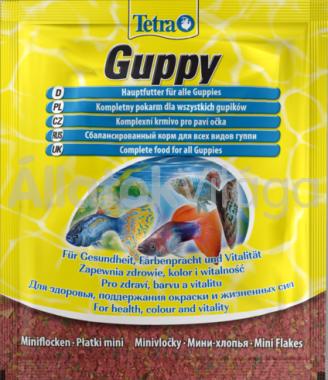 Tetra Guppy (zacskós) 12 g-os