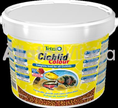 Tetra Cichlid Colour (vödrös) 3600 g/10 literes