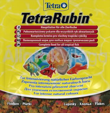 Tetra Rubin lemezes (zacskós) 12 g-os