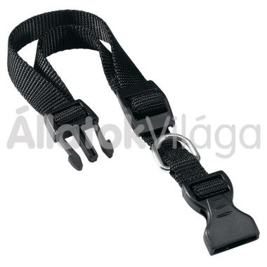 Ferplast Club C textil nyakörv 10mm/23-32cm fekete