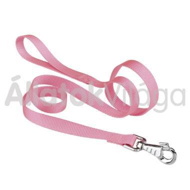 Ferplast Club G textil póráz 10mm/120cm pink