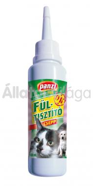Panzi Fültisztító csepp kutyáknak és macskáknak 100 ml-es