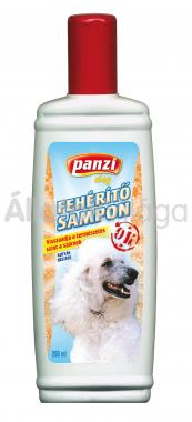 Panzi Fehérítő sampon kutyáknak 200 ml-es