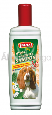 Panzi Gyógynövényes sampon kutyáknak 200 ml-es
