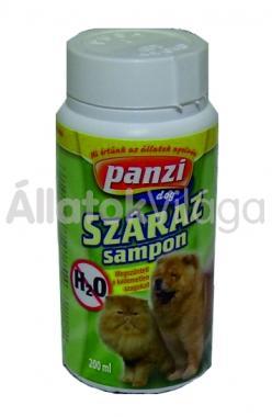 Panzi Szárazsampon kutya-macska 200 ml-es