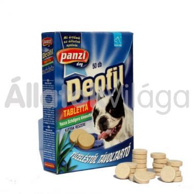 Panzi Cani-tab Deofil tabletta 50 db-os