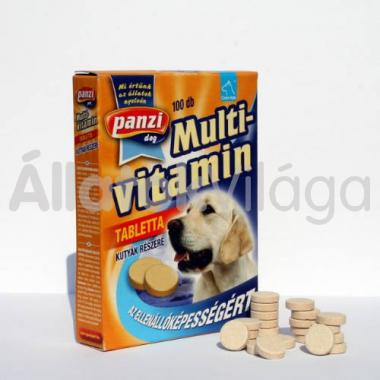 Panzi Cani-tab Multivitamin tabletta kutyáknak 100 db-os