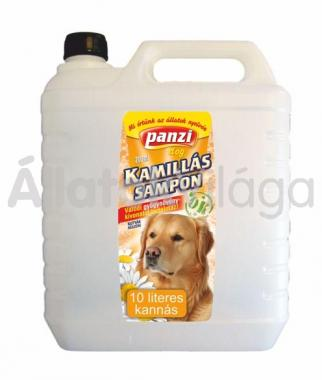 Panzi Kamillás sampon kutyáknak 10 literes