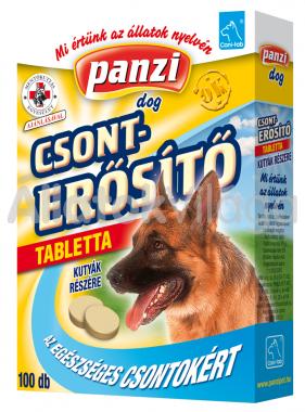 Panzi Cani-tab Csonterősítő tabletta kutyáknak 100 db-os