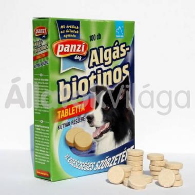 Panzi Cani-tab Algás-biotonos tabletta kutyáknak 100 db-os