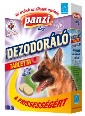 Panzi Cani-tab Dezodoráló tabletta kutyáknak 100 db-os