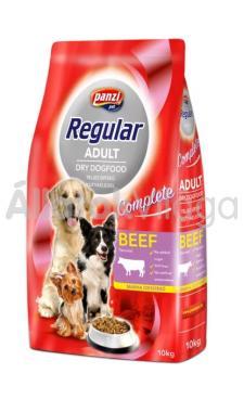 Panzi Regular DogFood Beef marhás száraz kutyaeledel 10 kg-os