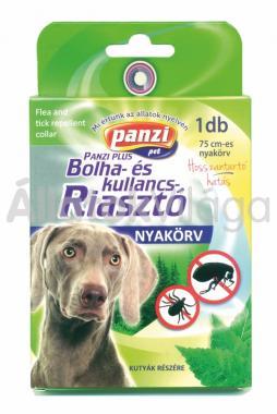 Panzi Bolha és kullancs riasztó nyakörv kutyáknak 75 cm-es