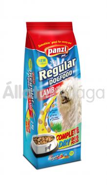 Panzi Regular DogFood Lamb & Rice bárány & rizs száraz kutyaeledel 2 kg-os