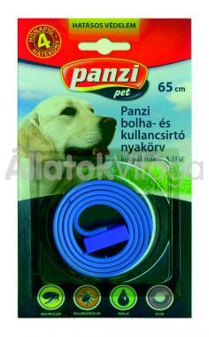 Panzi Bolha- és kullancsirtó nyakörv kutyáknak 65 cm-es bliszteres kék