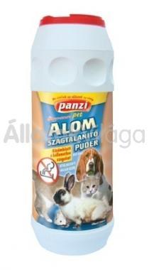 Panzi Alom szagtalanító púder kutyák, macskák és rágcsálók részére 450 cm3-es