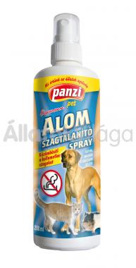 Panzi Alomszagtalanító spray kutyák, macskák és rágcsálók részére 200 ml-es