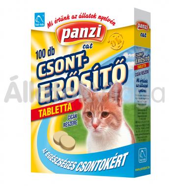 Panzi Feli-tab Csonterősítő tabletta macskáknak 100 db-os