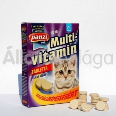 Panzi Feli-tab Multivitamin tabletta macskáknak 100 db-os