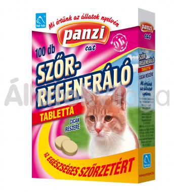 Panzi Feli-tab Szőrregeneráló tabletta macskáknak 100 db-os
