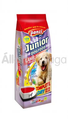 Panzi Junior DogFood Lamb & Rice bárány & rizs száraz kölyök kutyaeledel 2 kg-os