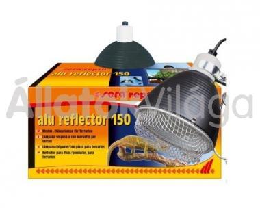 Sera reptil alu reflector 150 (foglalat+búra+védőrács)