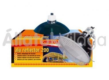 Sera reptil alu reflector 200 (foglalat+búra+védőrács)