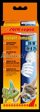 Sera reptil dayligh compact izzó 26 W-os 2% UVB