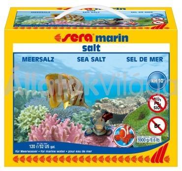 Sera marin basic tengeri só 3900 g-os 120 literhez
