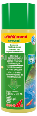 Sera pond crystal 500 ml-es 5 m3-hez
