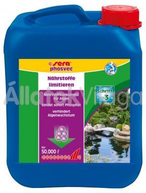 Sera pond phosvec 5 literes 50 m3-hez